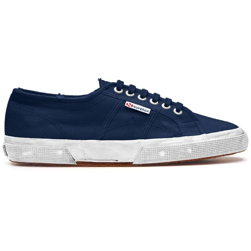 Superga Custonewash azul navy