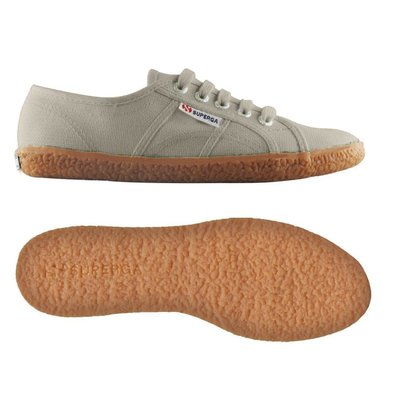 Superga taupe naked