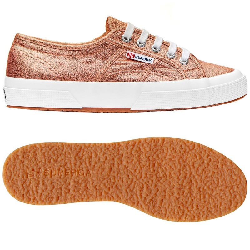 Superga rosa gold