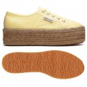 SUPERGA ESPARTO PLATAFORMA CREMA DOBLE