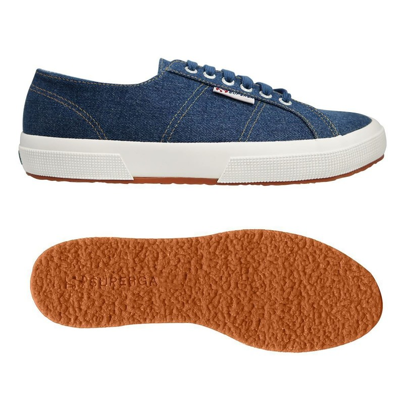 SUPERGA DENIM S00EF90 729 BLUE