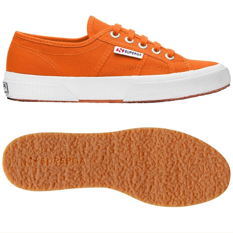2750-COTU CLASSIC, 16126, LE SUPERGA S000010 482 ORANGE