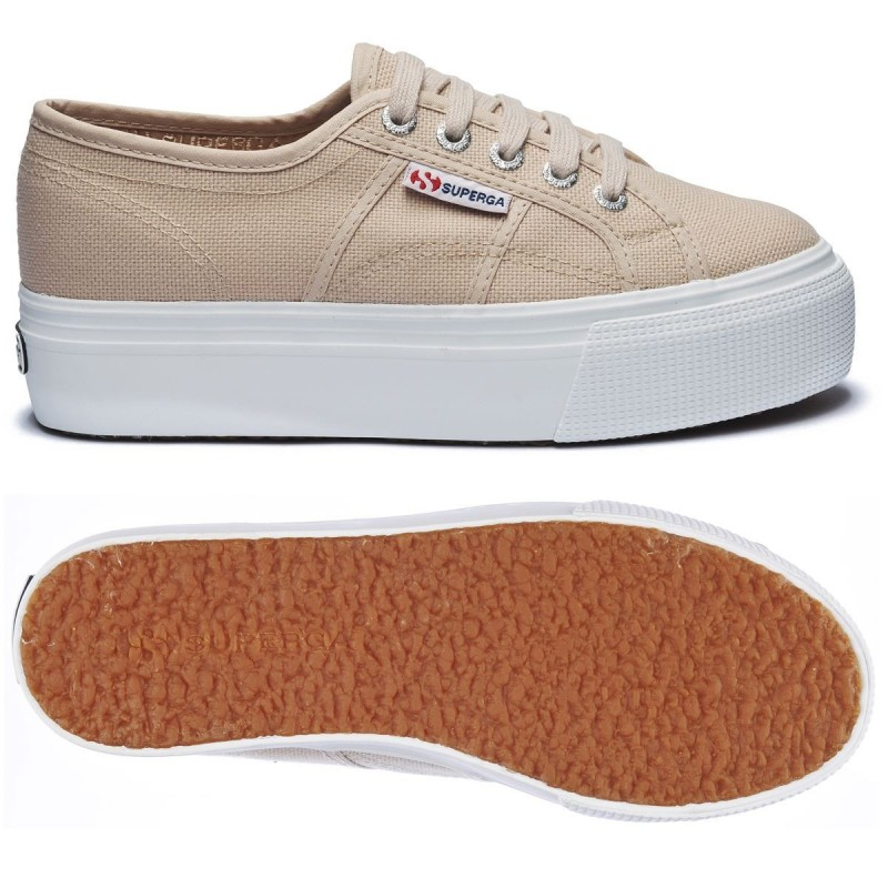 SUPERGA 2790 PLATAFORMA BEIGE MOONLIGHT