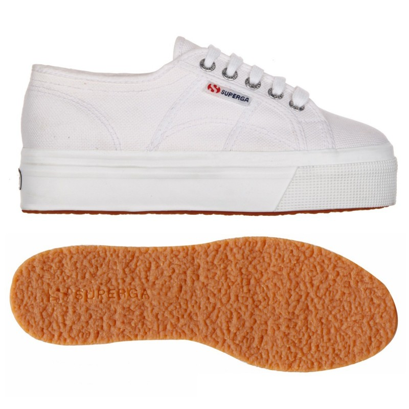 2790ACOTW LINEA UP AND DOWN, 18278, LADY SHOES S0001L0 901 WHITE