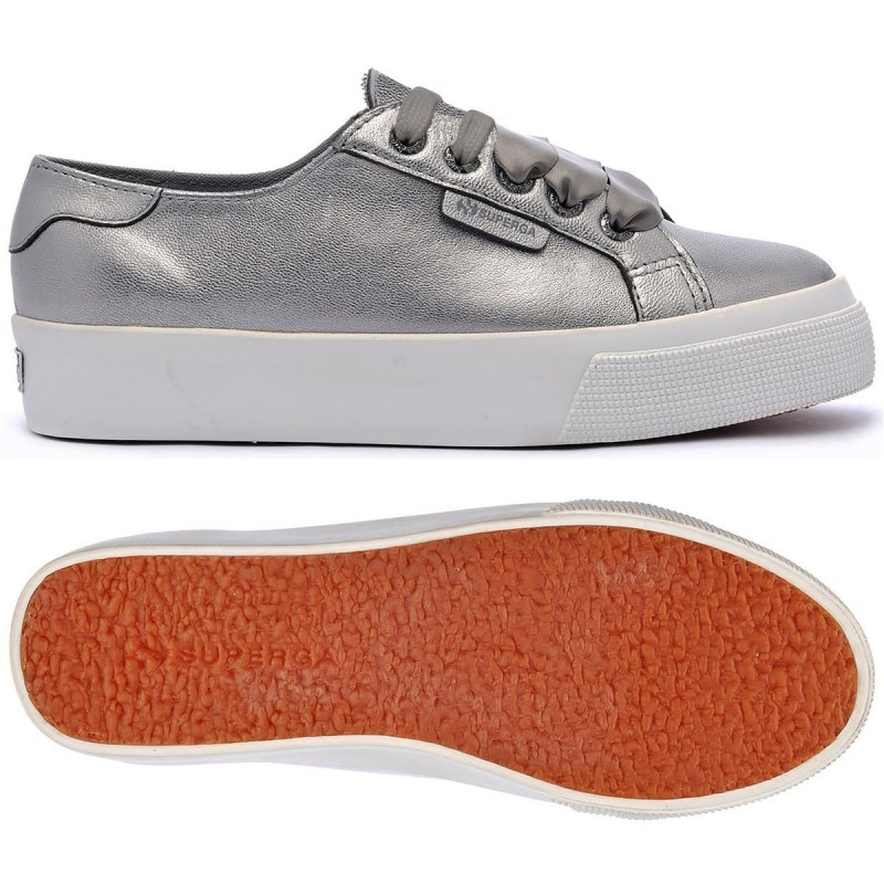 SUPERGA PLATAFORMA 2730 COLOR GUN METAL