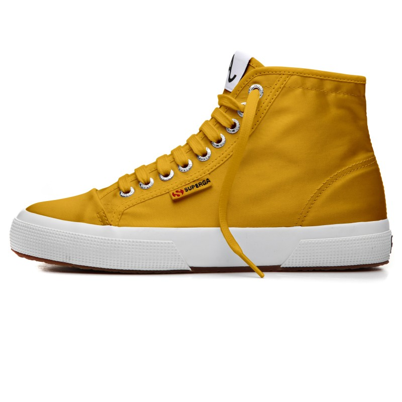 BOTA SUPERGA ALEXA CHUNG AMARILLA SATIN S00EN40 903 YELLOW MUST