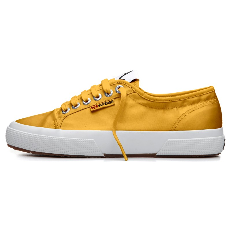 SUPERGA ALEXA CHUNG SATIN YELLOW MUST
