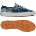TIE DYE DENIM SUPERGA 2750 S00FLA0 729 BLUE
