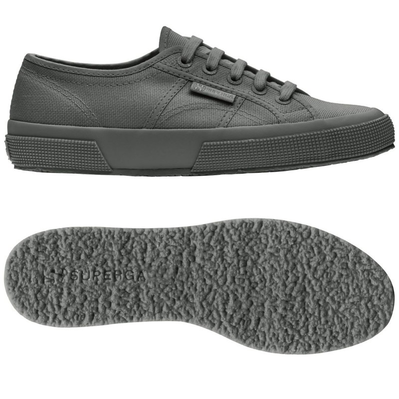 Superga clásica gris total