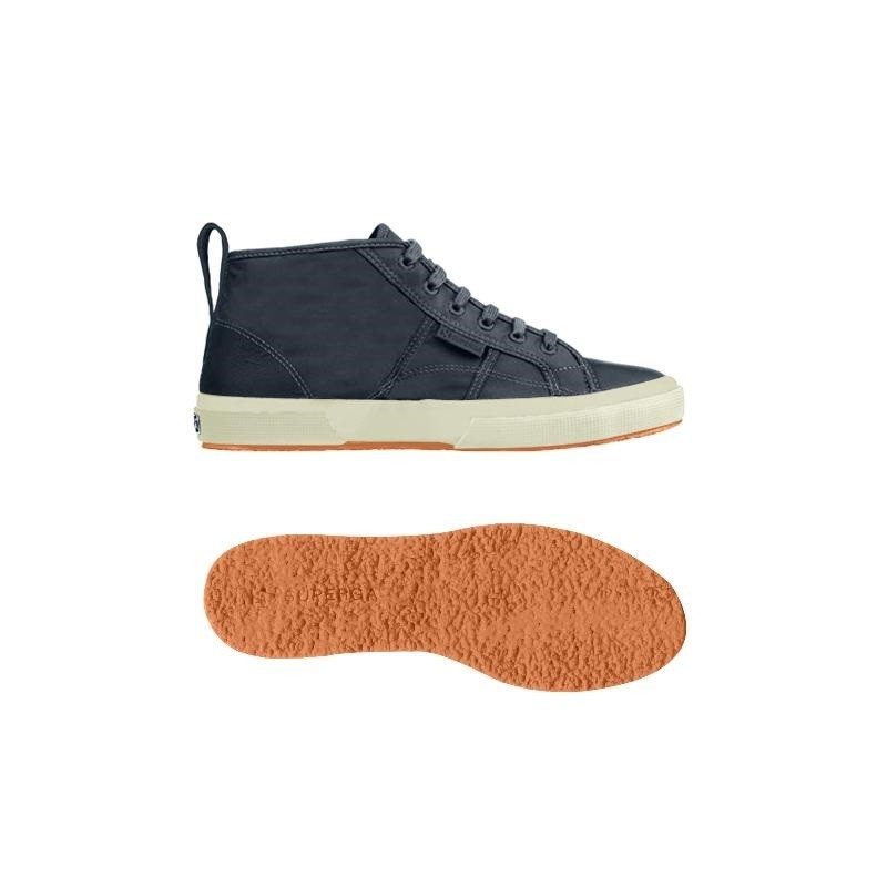 Superga bota mid top marino