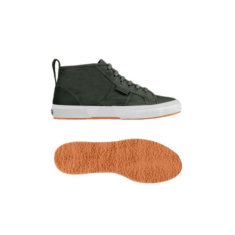 Superga bota mid top verde