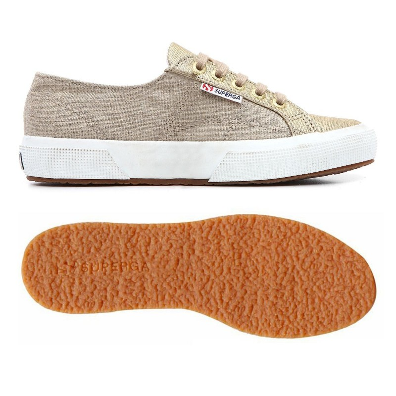 2750-LINMETW, 12910, LE SUPERGA S009CI0 902 NATURAL-GOL