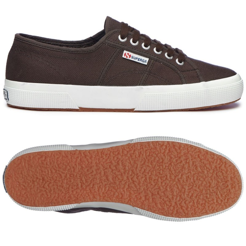 SUPERGA 2750 BLACK OLIVE