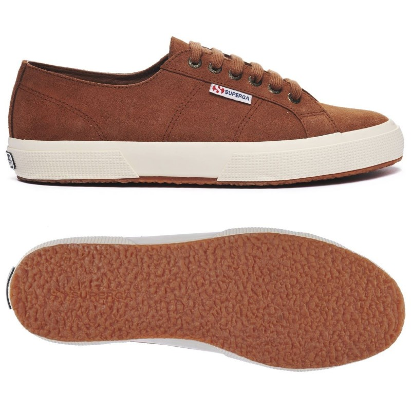 2750-SUEU, 19206, LE SUPERGA S003SR0 WKK BROWN CLAY