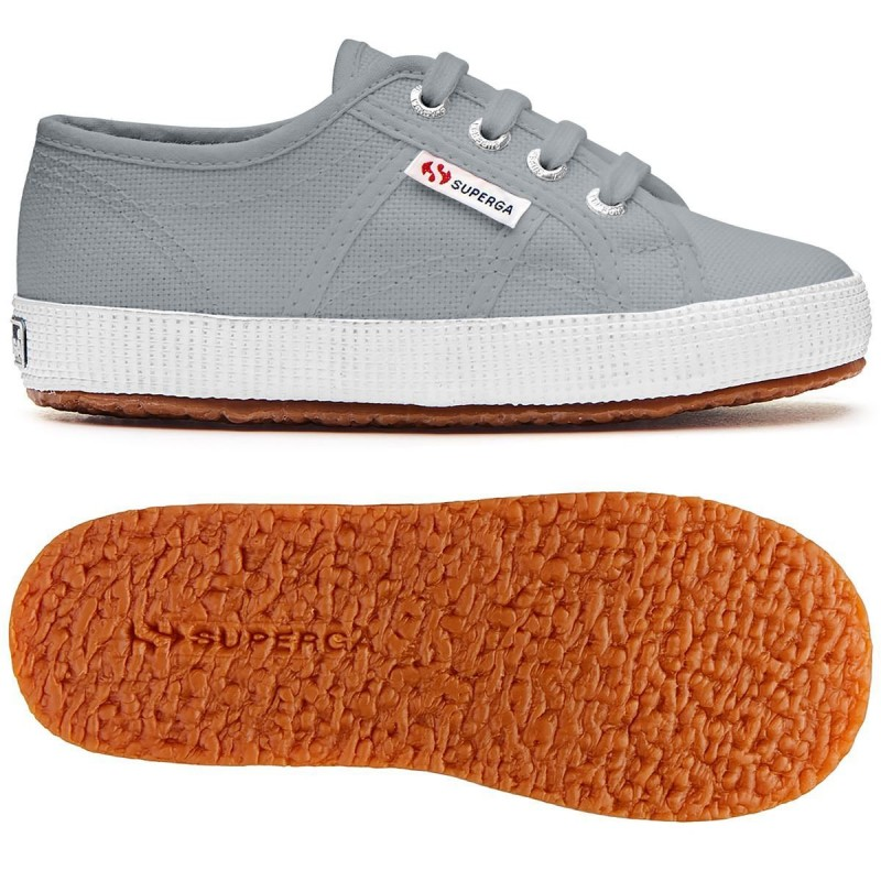 Superga Suela Bump Junior Grey Ash