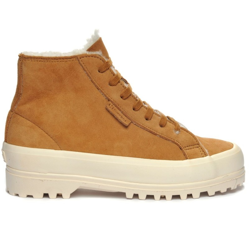 Superga Bota Alpina Shearling color Cúrcuma