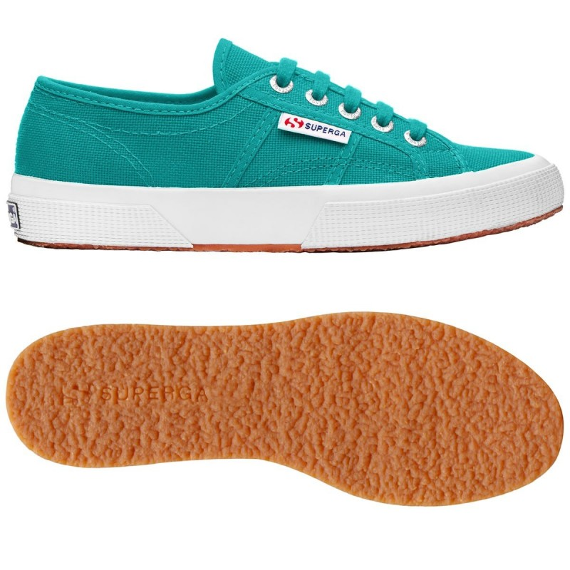 2750-COTU CLASSIC, 16126, LE SUPERGA S000010 WET GREEN BRIGH