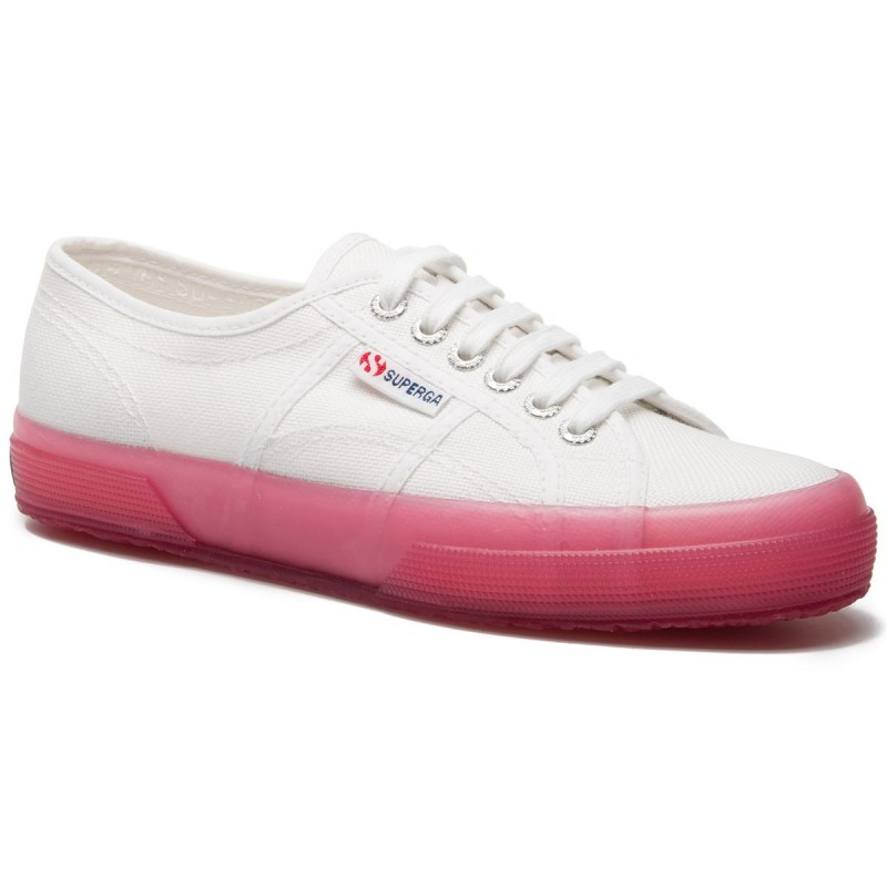 2750-JELLYGUM COTU, 20387, LE SUPERGA S1113DW A00 WHITE-PINK