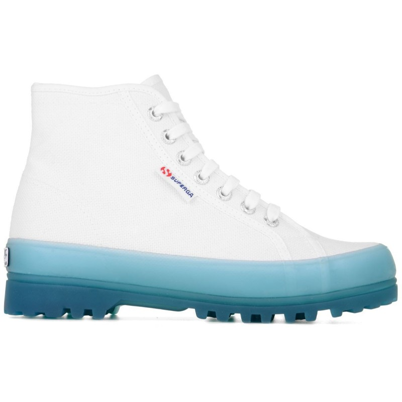 2341-ALPINA JELLYGUM COTU, 20388, ANKLE BOOTS S1114XW A0A WHITE-BLUE