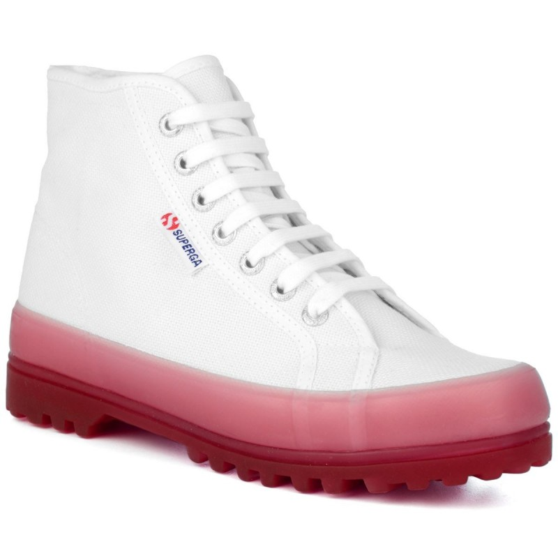 2341-ALPINA JELLYGUM COTU, 20388, ANKLE BOOTS S1114XW A0E WHITE-PINK