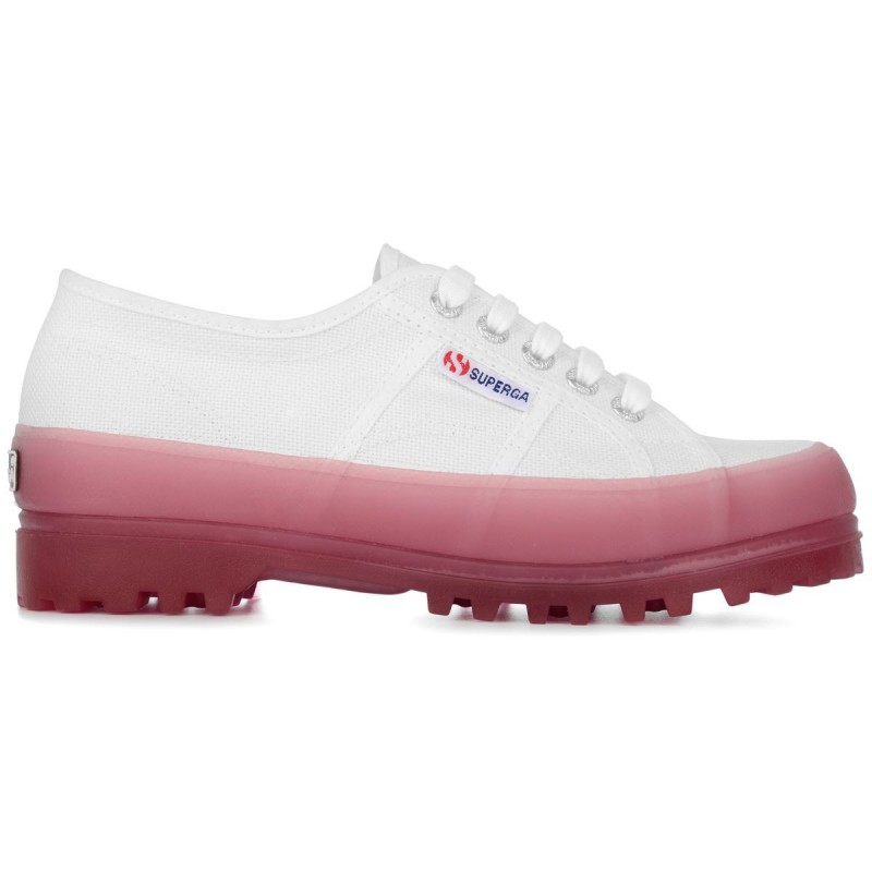 2555-ALPINA JELLYGUM COTU, 20388, SNEAKERS S1115LW A0E WHITE-PINK