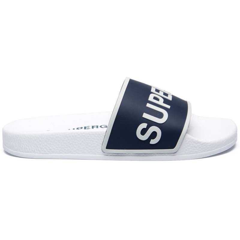 1908-PUTPRU, 20388, SLIPPERS S711B3W A0B WHITE-NAVY