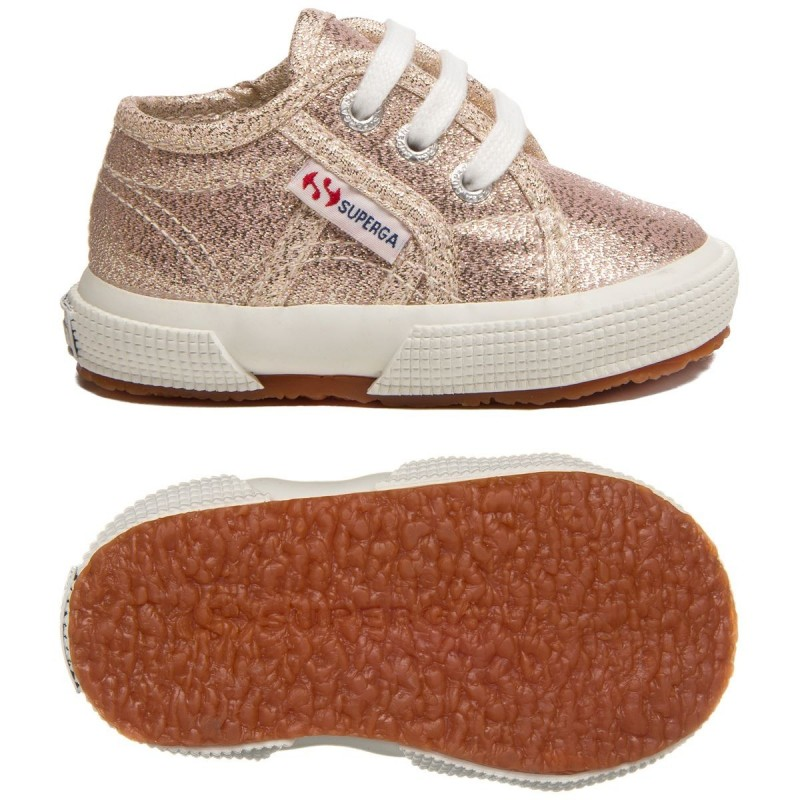 2750-LAMEB, 20390, LE SUPERGA S0028T0 941 ROSE PLATINUM