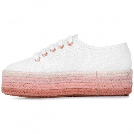 2790-COTCOLOROPEW, 20387, LADY SHOES S00C4Z0 N01 WHITE-ROSEGOLD-MULTICOLOR