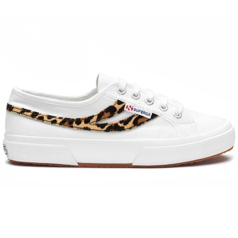 2953-COTU PONYHAIR, 20387, SNEAKERS S71191W A0F WHITE-CHEETATH