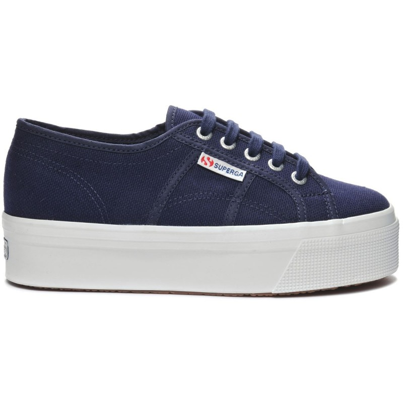 2790ACOTW LINEA UP AND DOWN, 20386, LADY SHOES S0001L0 00G BLUE NAVY