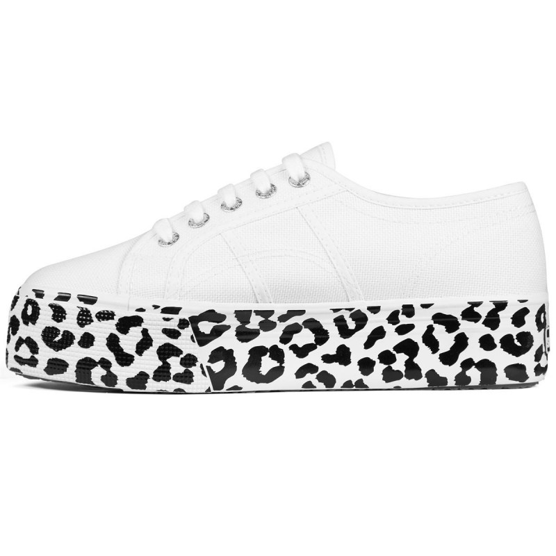 2790-COTW PRINTEDFOXING, 20387, LADY SHOES S41157W A1P WHITE-LEOPARD