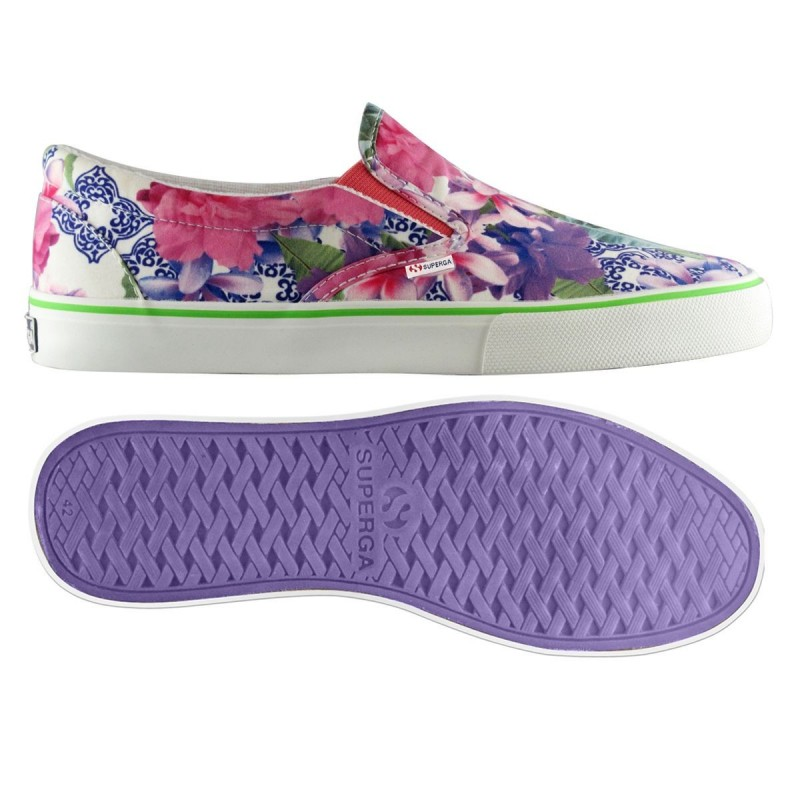 Superga Slip on FLOWEREDVIO