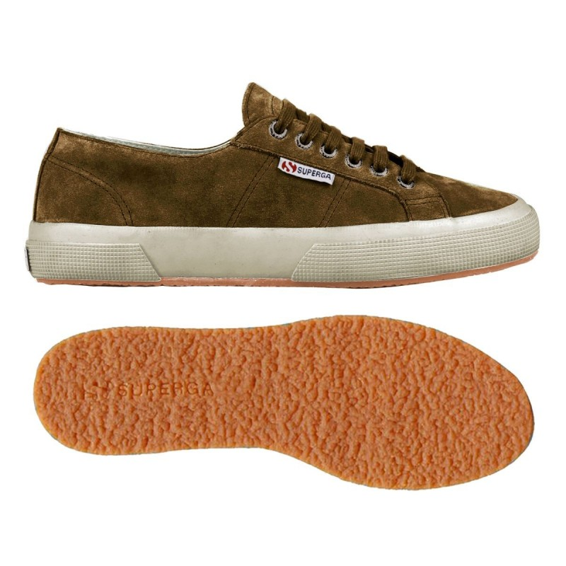 2750-SUEU, 13573, LE SUPERGA S003SR0 242 BROWN BOMBA