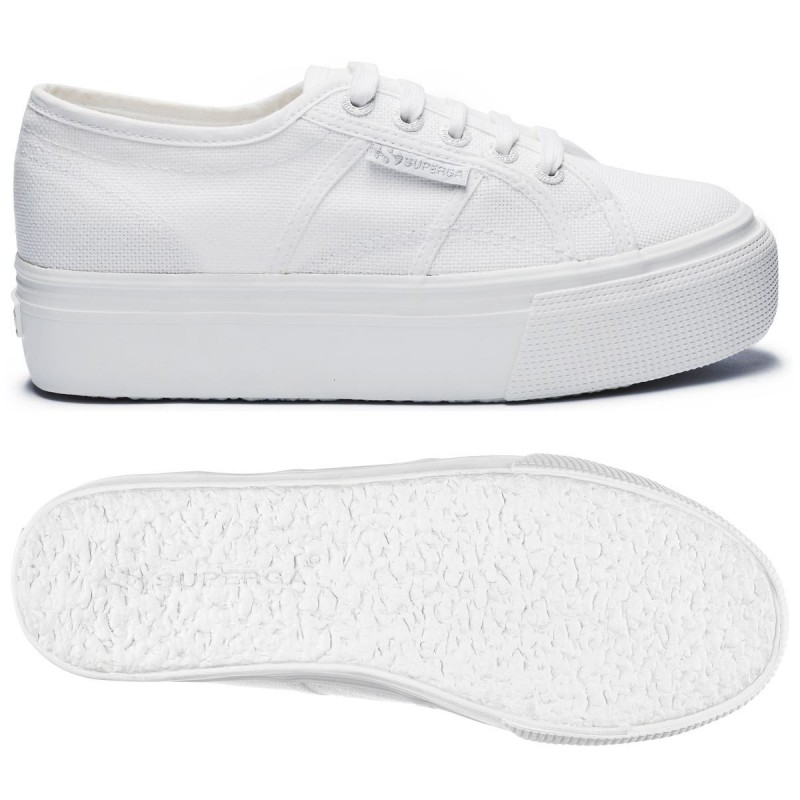 2790ACOTW LINEA UP AND DOWN, 19205, LADY SHOES S0001L0 C42 TOTAL WHITE