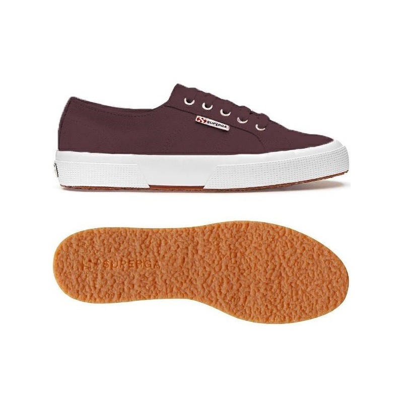 2750-SUELNGCOTU, 23572, LE SUPERGA S111E6W URL RED CATAWBA