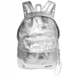 METAL SMALL BACK PACK 7ASS1601 0G1GREY SILVER