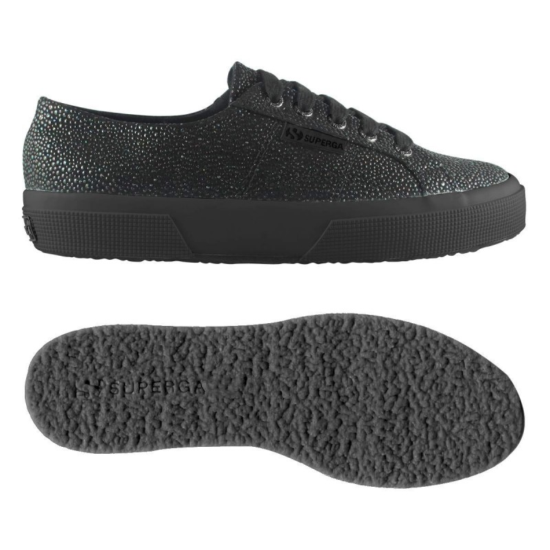 2750-SYNRAZZAW, 15110, LE SUPERGA S00BFK0 913 TOTAL BLACK