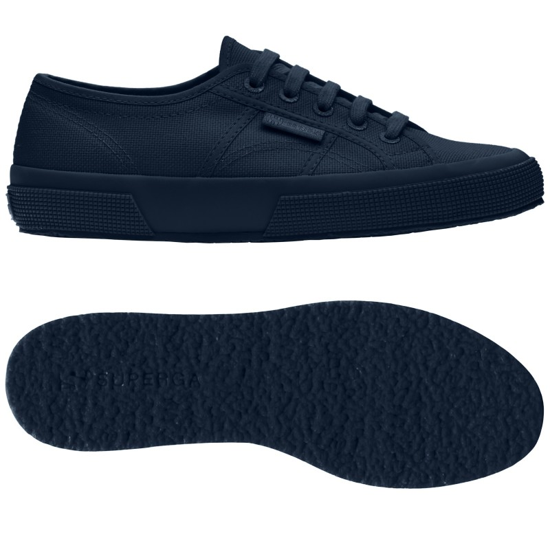 Superga azul marino total