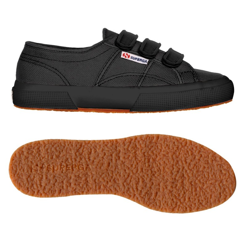 2750-COT3VELU, 14357, LE SUPERGA S00BN20 996 FULL BLACK