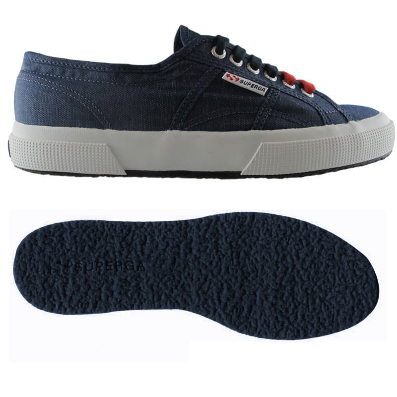 Superga azules oxford