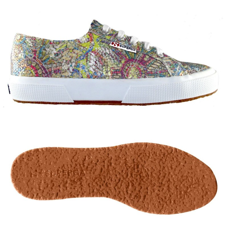 2750-PAILLETTESMOSAICW, 14358, LE SUPERGA S00BQ40 907 MULTICOLOR