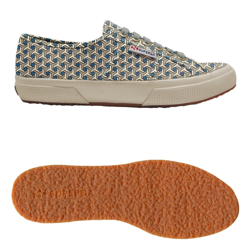 2750-FANTASY COTU, 14358, LE SUPERGA S001W00 C91 OPTICAL GRE